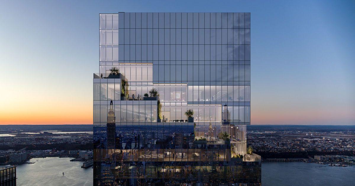 У Нью-Йорку побудували останній поверх 300-метрового хмарочоса, де буде розташовуватися штаб-квартира Pfizer