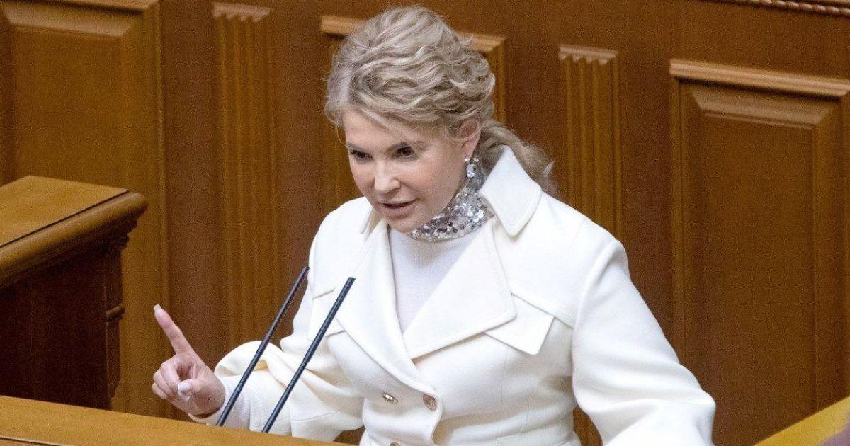В образе Снежинки и в водолазке, как у Стива Джобса: 7 стильных образов Юлии Тимошенко на заседаниях Верховной Рады