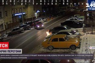 Новости Украины: в Днепре женщина, скрываясь от копов, разбила три авто