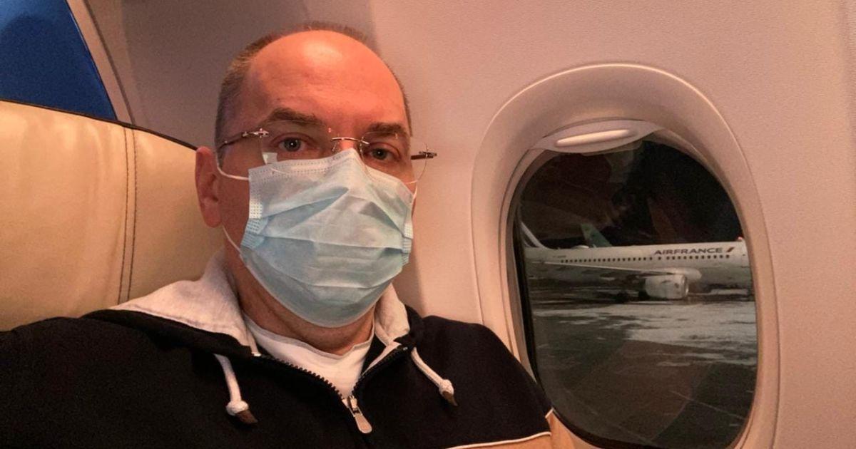 Степанов посреди ночи полетел договариваться о поставках вакцины от коронавируса в Украину