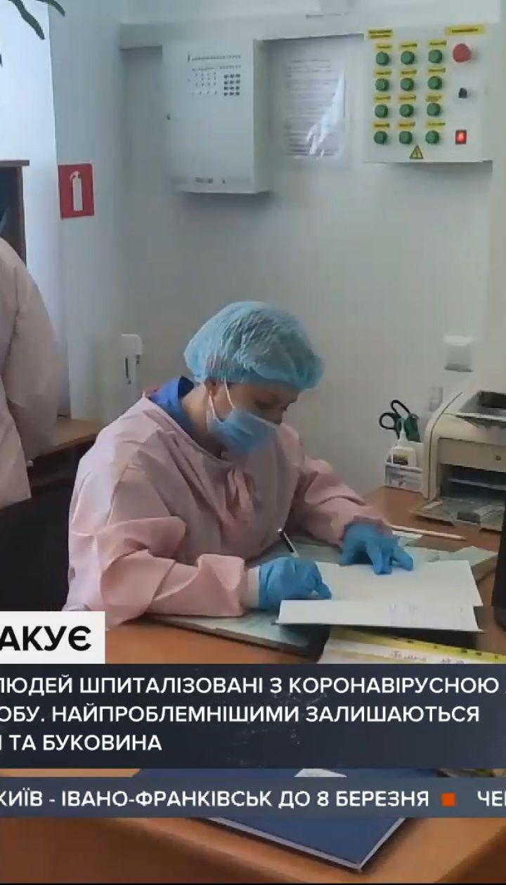 На Прикарпатье несколько дней подряд фиксируют рекорды по заболеваемости коронавирусом
