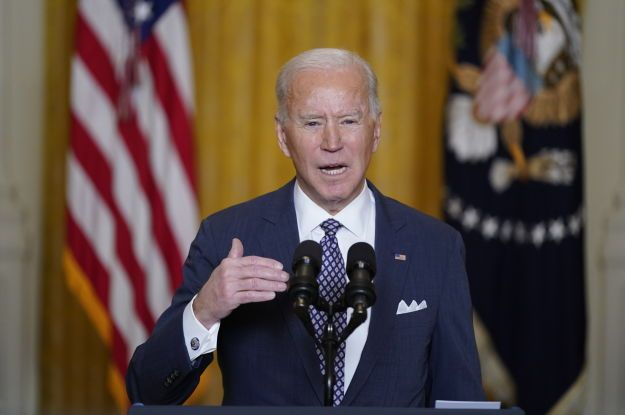 Президент США Байден продлил санкции против России из-за ее агрессии в Украине