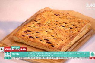 Быстро, вкусно, уютно: готовим вишневый пирог