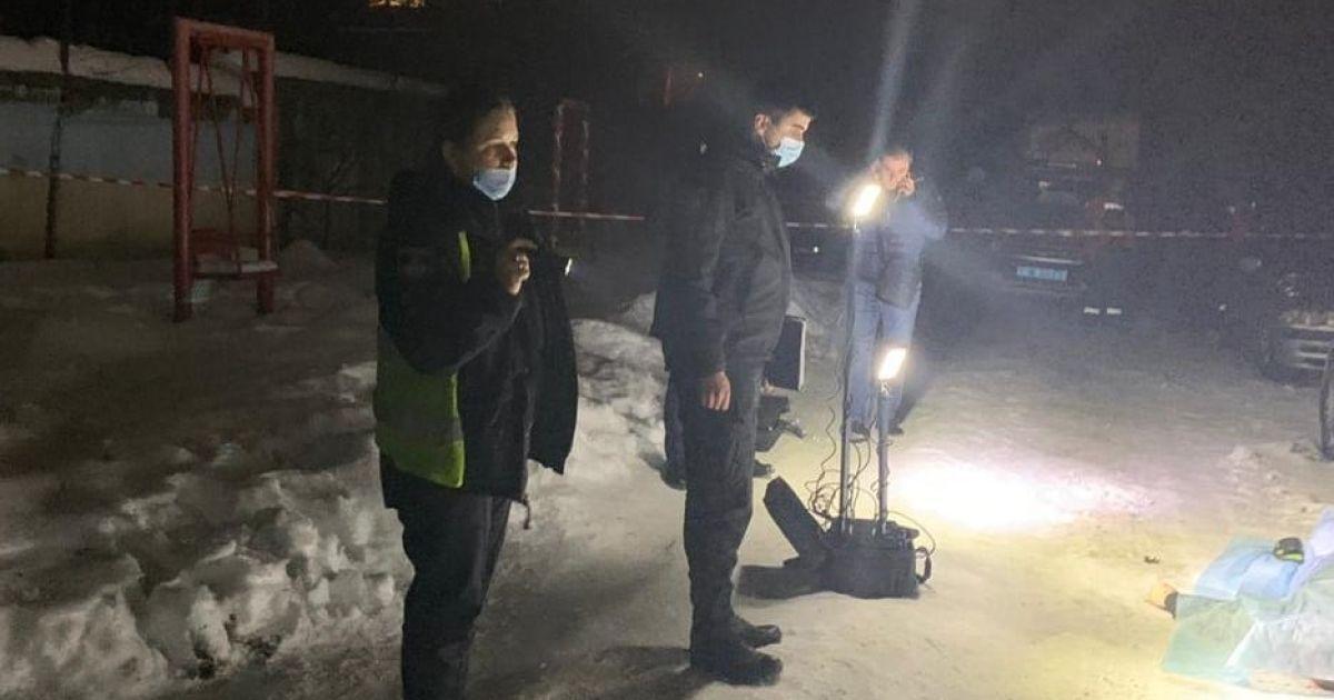 Разорванные тела и снег в крови: взрыв гранаты в Дрогобыче полиция расследует как умышленное убийство