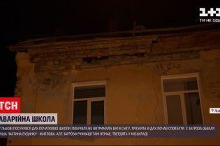 Новости Украины: во Львове сдвинулась крыша начальной школы