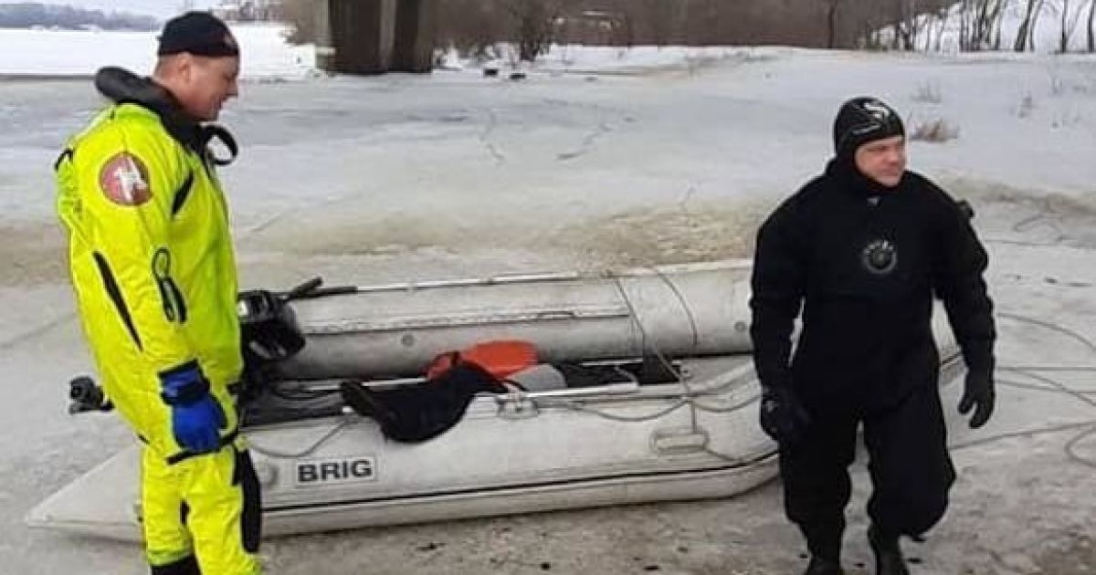 В Киеве мужчина прыгнул в Днепр с Северного моста и утонул