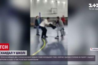 Новости Украины: в Ирпене старшеклассники за руки расшатали пятиклассника, что мальчик ударился о пол головой