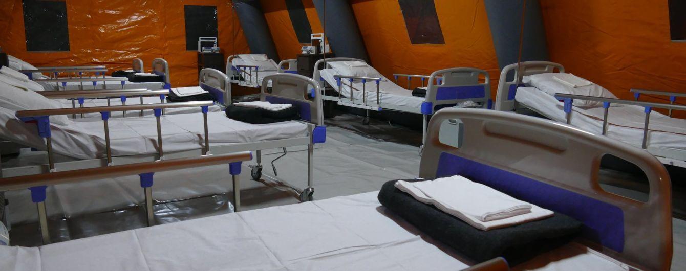 На Прикарпатье в мобильном COVID-госпитале не осталось ни одного пациента