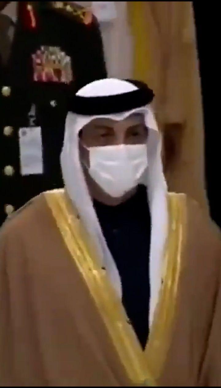 Появилось видео, как Уруский шагает рядом с Кадыровым на открытии выставки оружия IDEX-2021 в Абу-Даби
