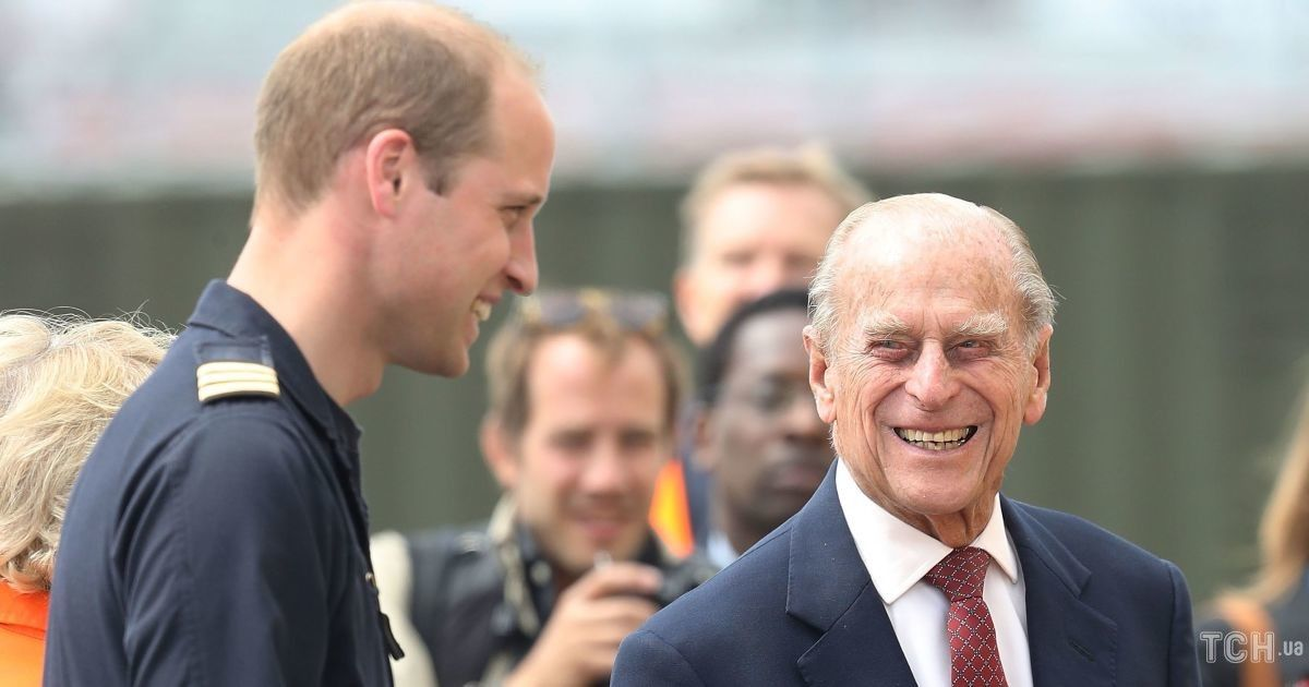Принц Уильям рассказал о состоянии здоровья 99-летнего принца Филиппа