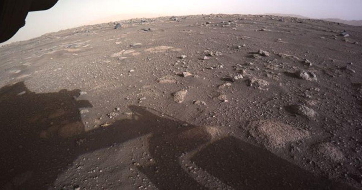 Апарат Perseverance надіслав перше відео та аудіо з Марса