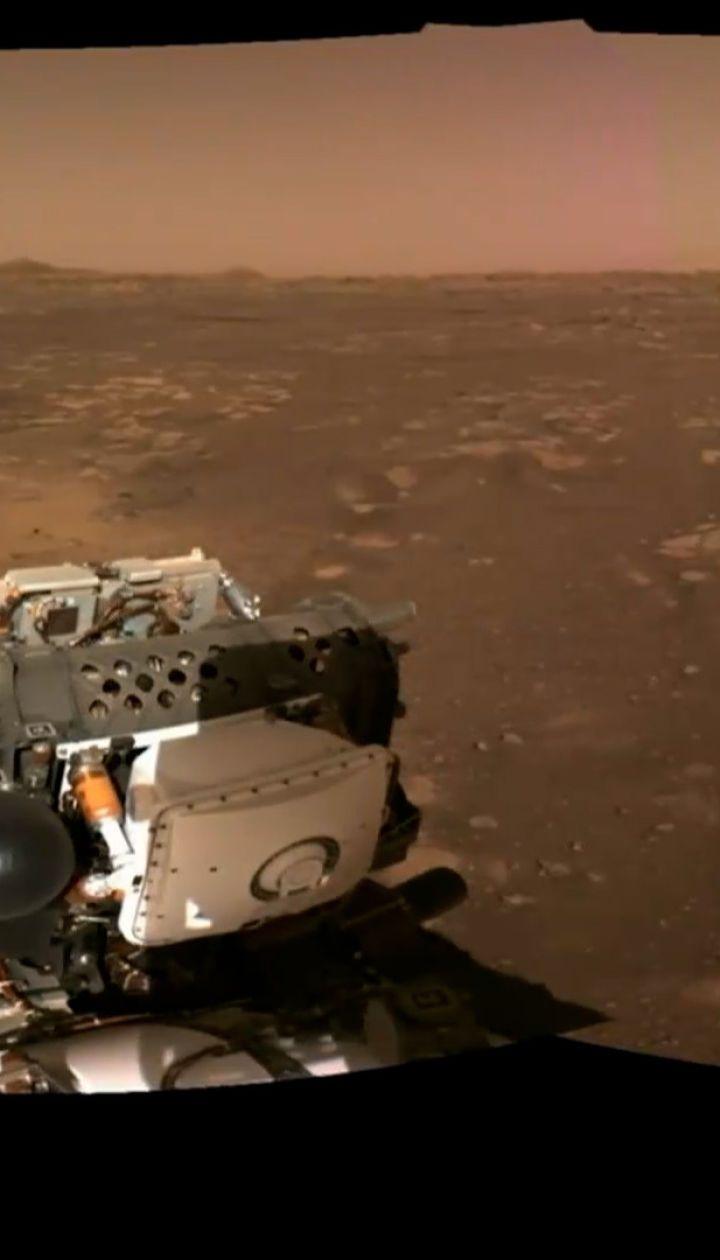 """Новини світу: космічний апарат """"Perseverance"""" надіслав перше відео з Марса"""