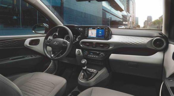 Hyundai I10, салон