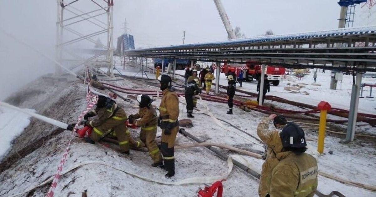 Взрыв и пожар на газопроводе в РФ: объявили чрезвычайное положение (фото)
