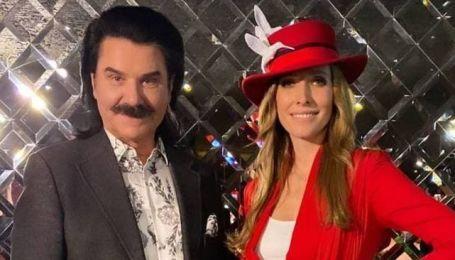 Звезды на светском мероприятии: Осадчая в экстравагантном жакете, Зибров во флористической рубашке