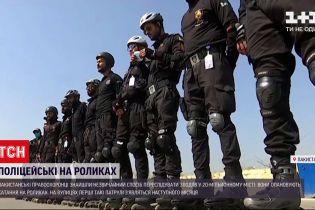 Новини світу: пакистанські правоохоронці опановують їзду на роликах