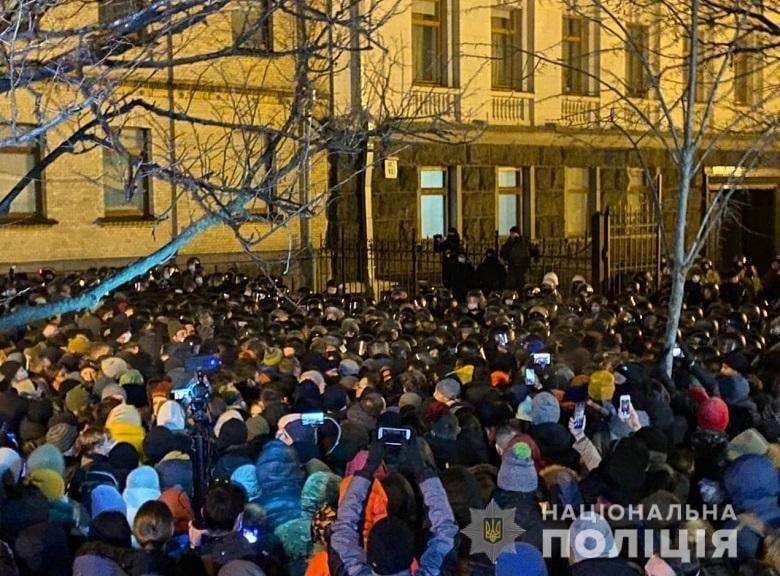 Акція протесту проти арешту Стерненка