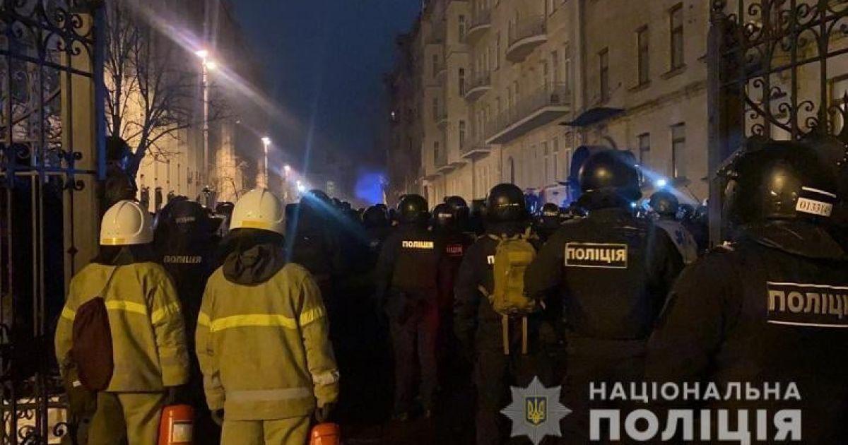 Прихильники Стерненка заявили про безстрокову акцію протесту: із Банкової не йтимуть