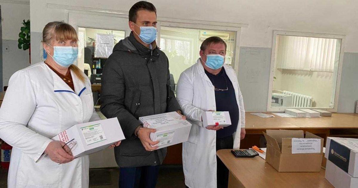 Вакцина от коронавируса уже в Черкасской области: объявлено старт прививок от COVID-19