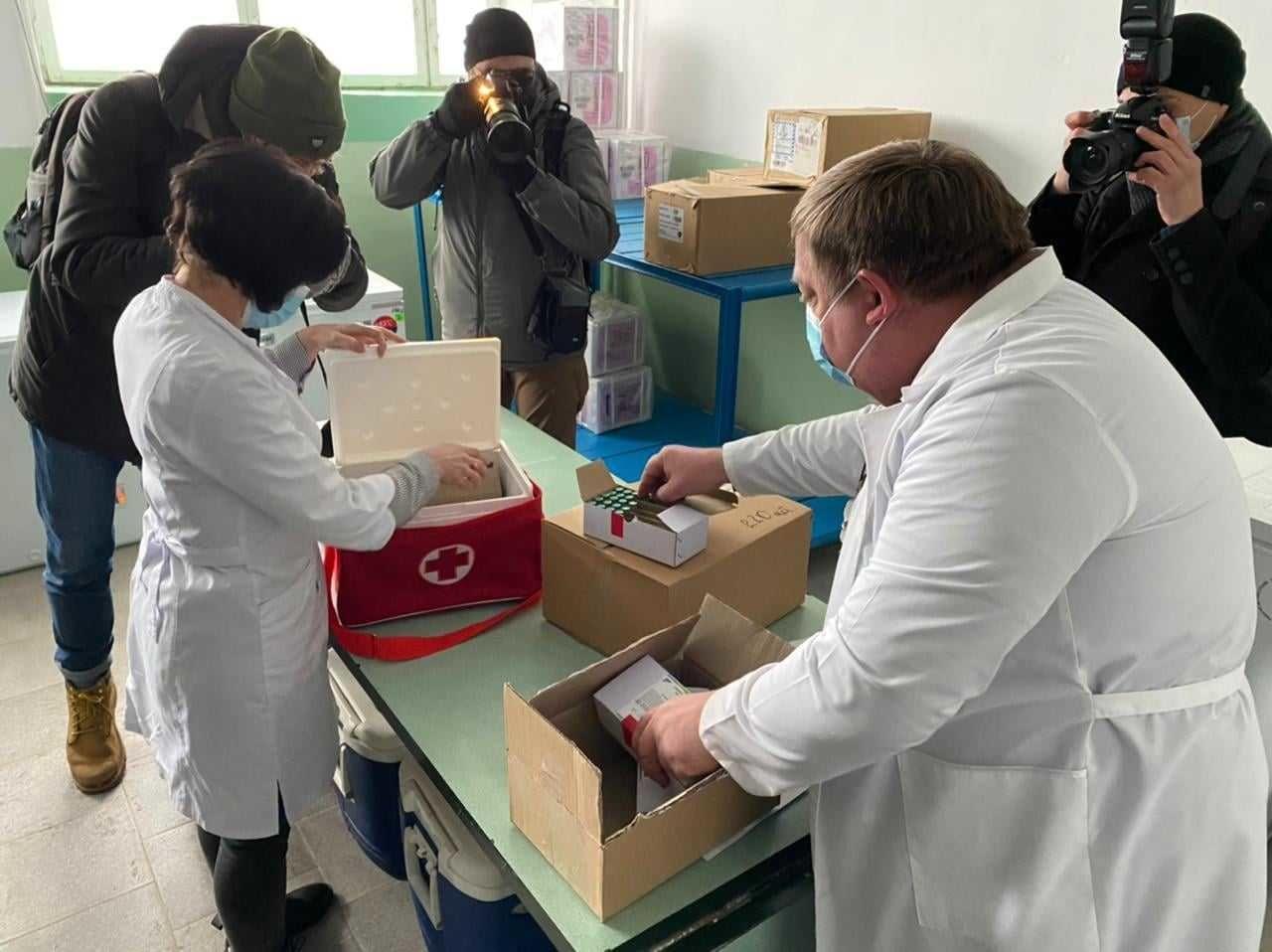 Вакцина в Черкаській області