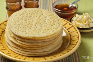 """Рецепт марокканських млинців """"Тисяча бульбашок"""""""