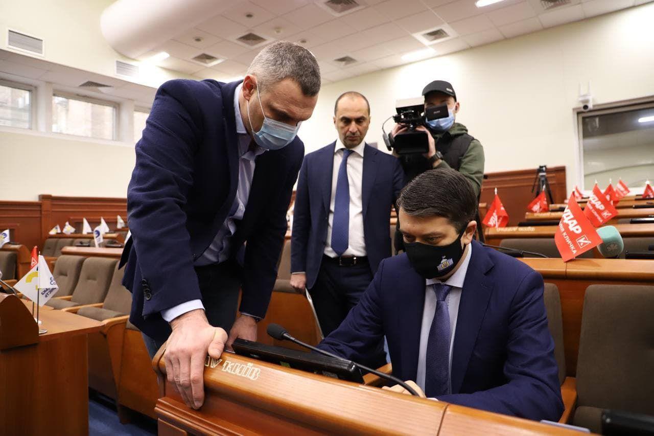 Разумков і Кличко