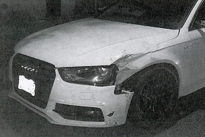 Audi A4 Карлоса Самбрано