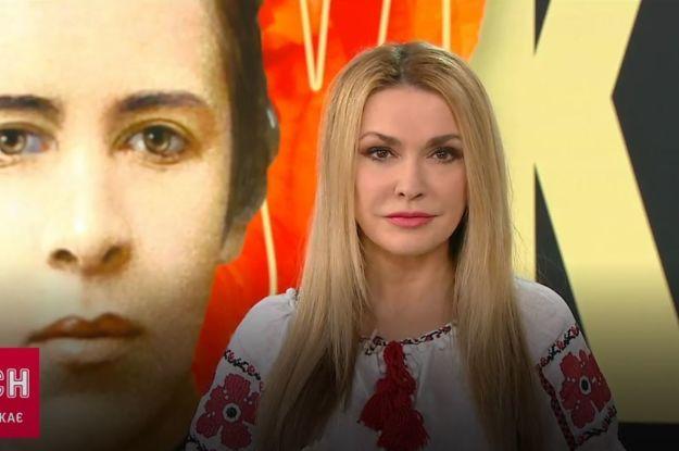 Ольга Сумська приголомшила проникливим прочитанням вірша Лесі Українки
