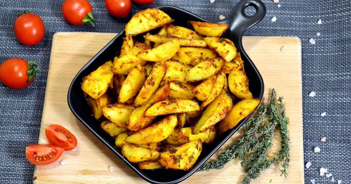 Хрустящая картошка в духовке: секрет приготовления