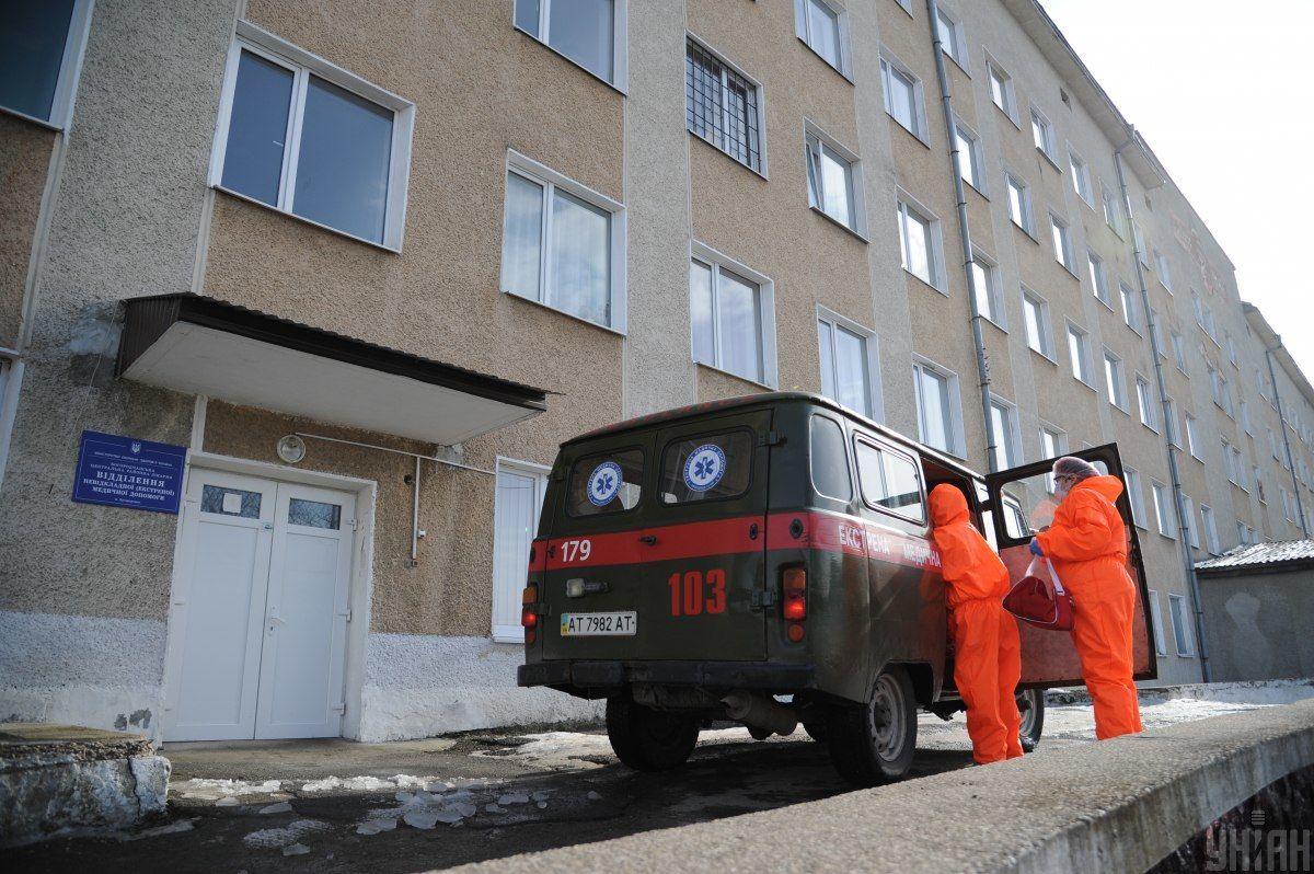 Коронавірус в Україні. Швидка допомога