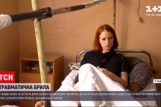 Новини України: львів'янка намагається з'ясувати, за чиєї провини бурулі призвели до її переломів