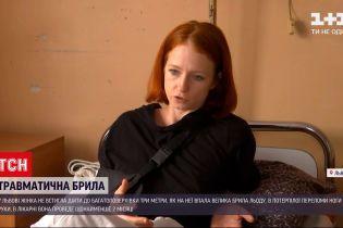 Новини України: львів'янка подасть позов до суду через отримані від буруль травми