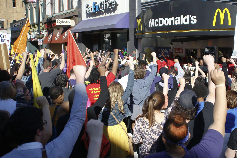 страйки в Макдональдсі