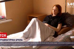 Новини України: у Львові жінка, травмована сніговою брилою, готує позов до суду