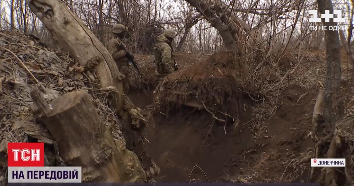 На Донбассе снова обстрелы: ранение получил один украинский боец