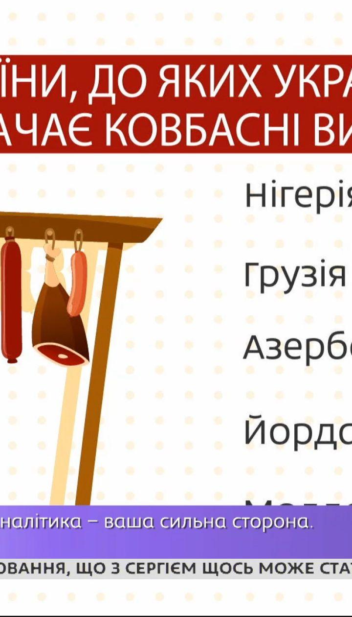 Украина наращивает импорт колбас