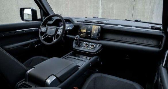 Land Rover Defender, салон