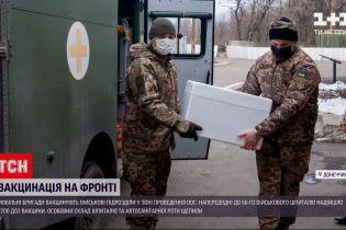 Новини з фронту: мобільні групи мають почати виїзди у бригади, щоб вакцинувати охочих бійців