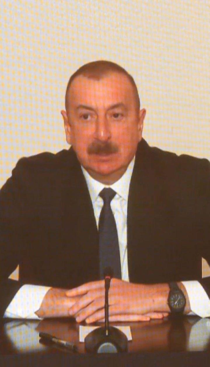 Президент Азербайджану про військову співпрацю з Україною