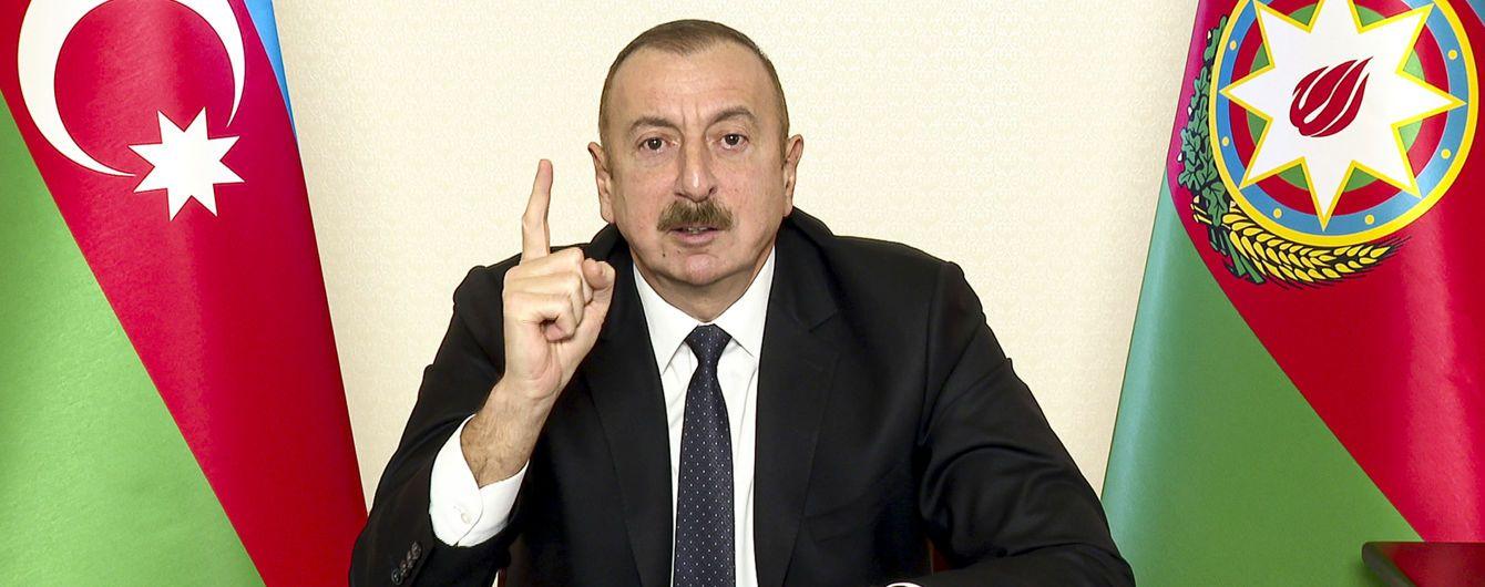 Україна і Азербайджан можуть відновити військову співпрацю: Алієв оцінив перспективи