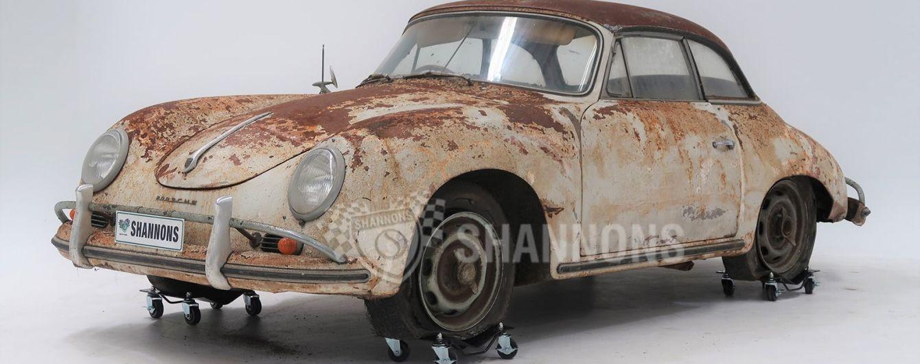 Іржавий 50-річний Porsche продали за 230 тисяч доларів: фото
