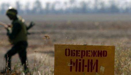 На Донбассе еще один боец подорвался на мине