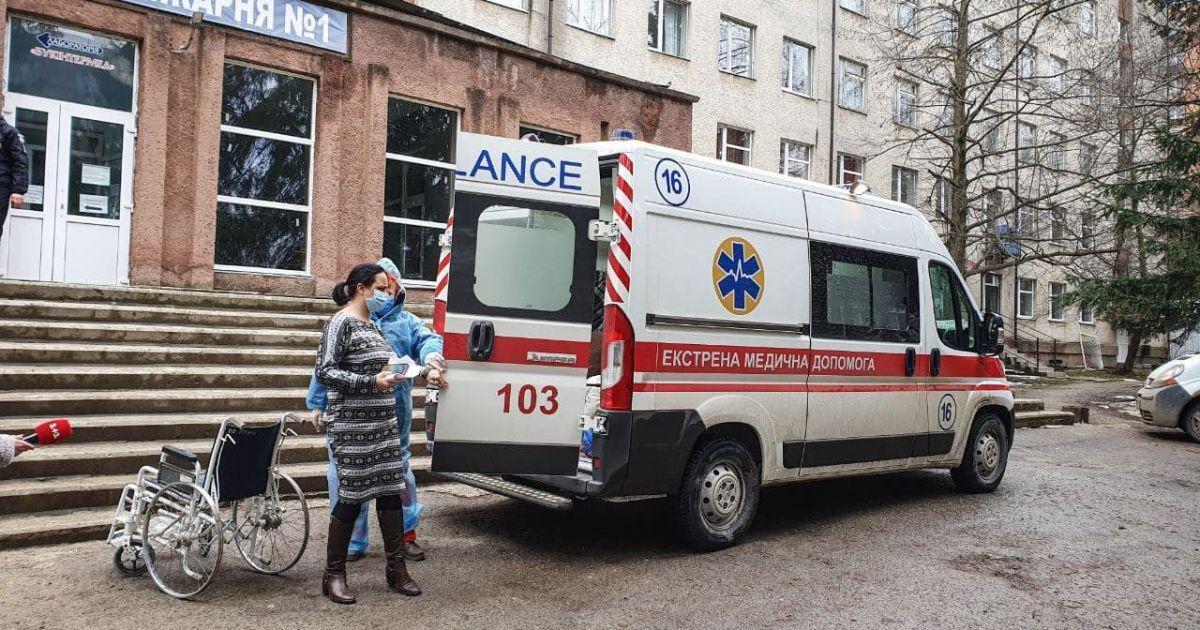 Пожежа в лікарні Чернівців сталася через флакон зі спиртом та кип'ятильник