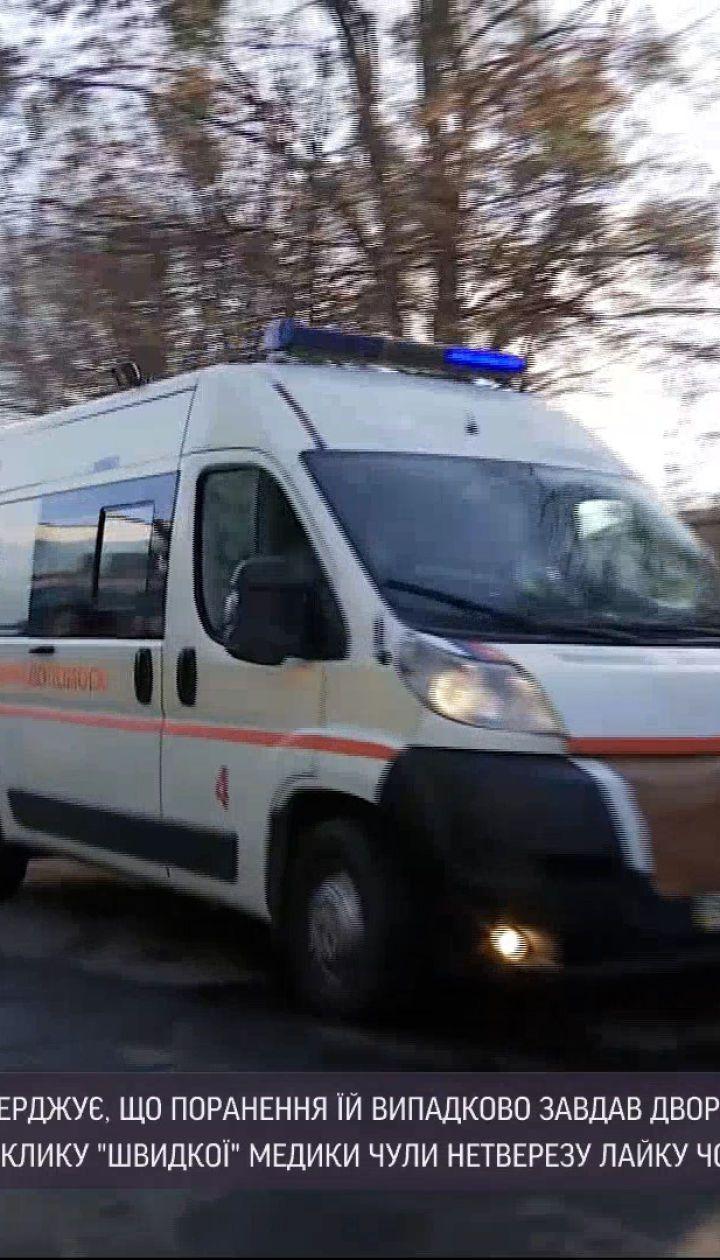 Новини України: дворічний хлопчик поранив ножем свою матір