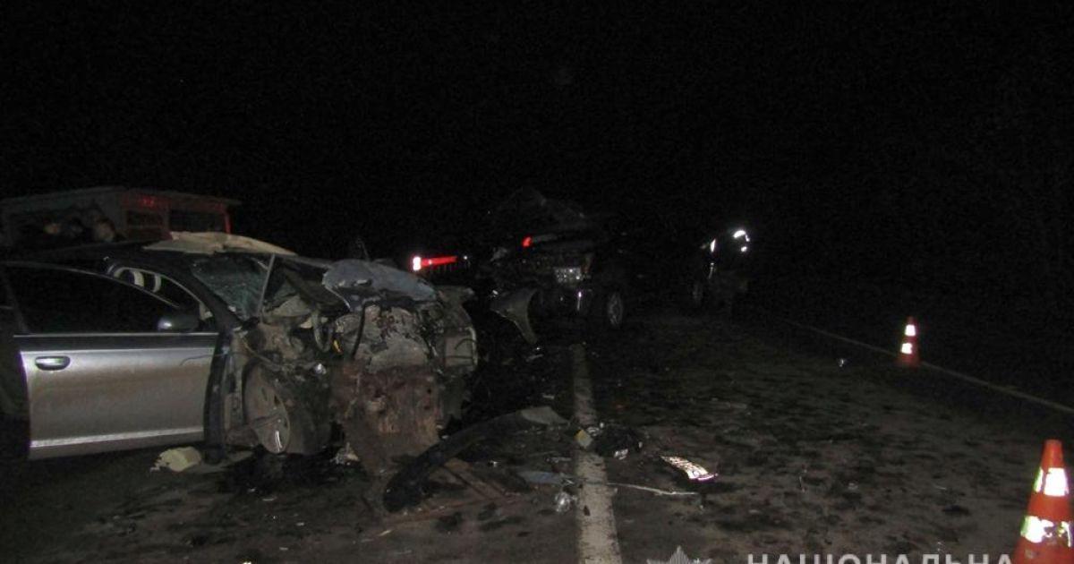 В Запорожской области столкнулись две иномарки: есть погибшие