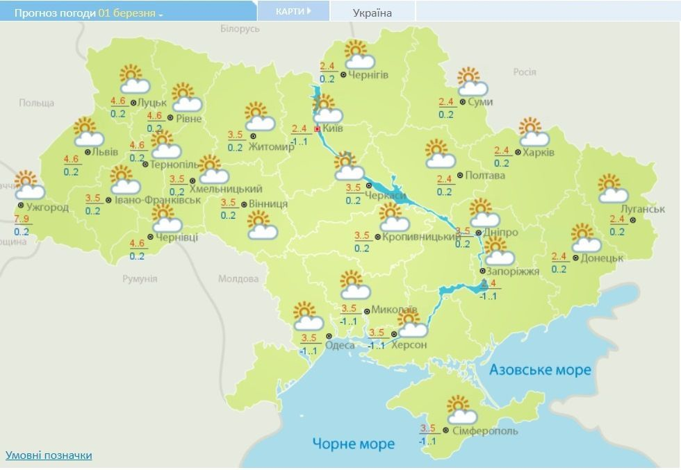погода на 1-3 березня_1