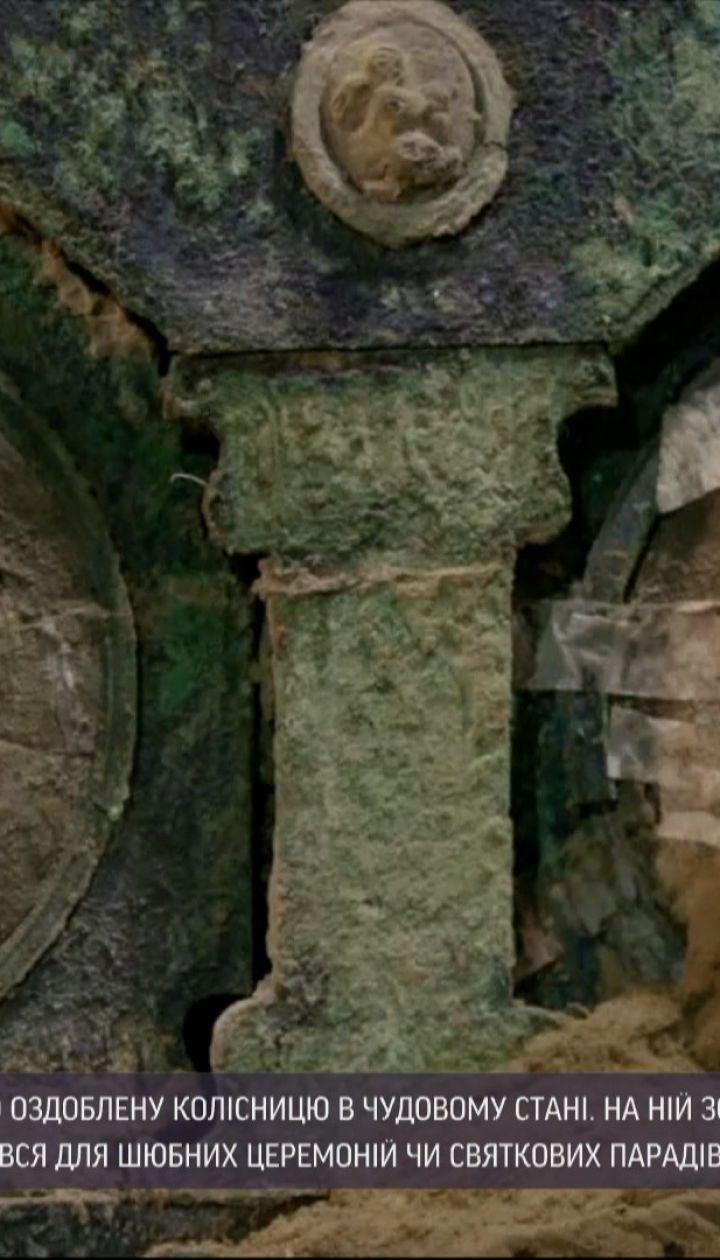 Новости мира: в Помпеях нашли древний брачный транспорт