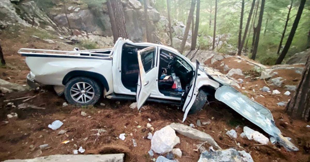 Авто скотилося з 50-метрового схилу: у Туреччині в ДТП постраждали українки (фото, відео)