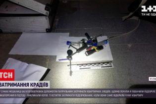 Новини України: у Сумах неповнолітні крадії намагалися пограбувати квартиру