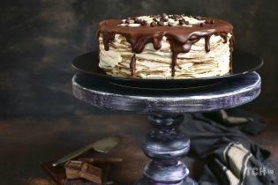 Млинцевий пиріг: оригінальний рецепт